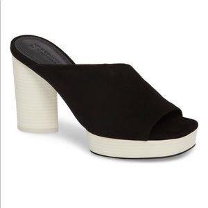 MERCEDES CASTILLO Chiara suede platform sandal